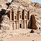 The Monastery, Petra by Mark Prior