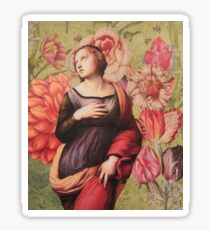 The Ascention of Saint Catharine of Alexandria Sticker