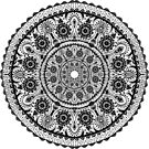 Black Lace mandala by artonwear