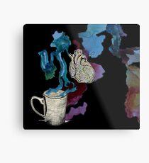 Coffee Cardio Metal Print