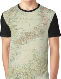 Old map of Japan Graphic T-Shirt