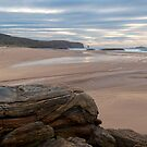 Sandwood Bay Rocks by derekbeattie