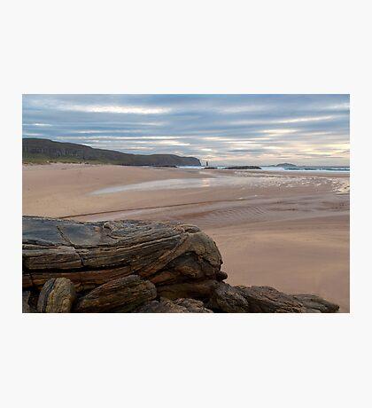 Sandwood Bay Rocks Photographic Print