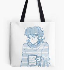 Morning Purrson Tote Bag