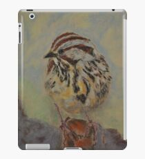 Lincoln's Sparrow iPad Case/Skin