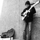 Street Musician by BonnieToll