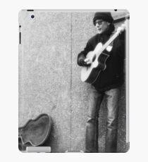 Street Musician iPad Case/Skin