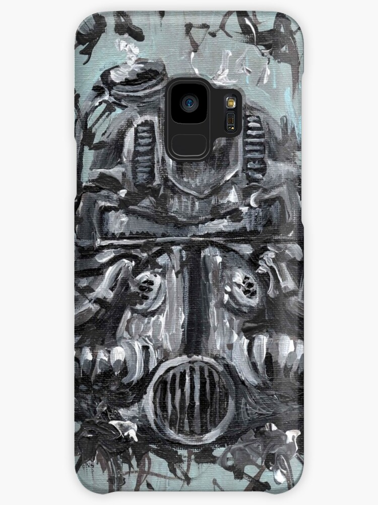 T51 Power Armor Helmet Cases Skins For Samsung Galaxy By John