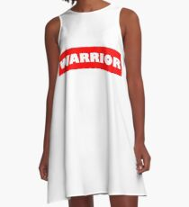Warrio white A-Line Dress