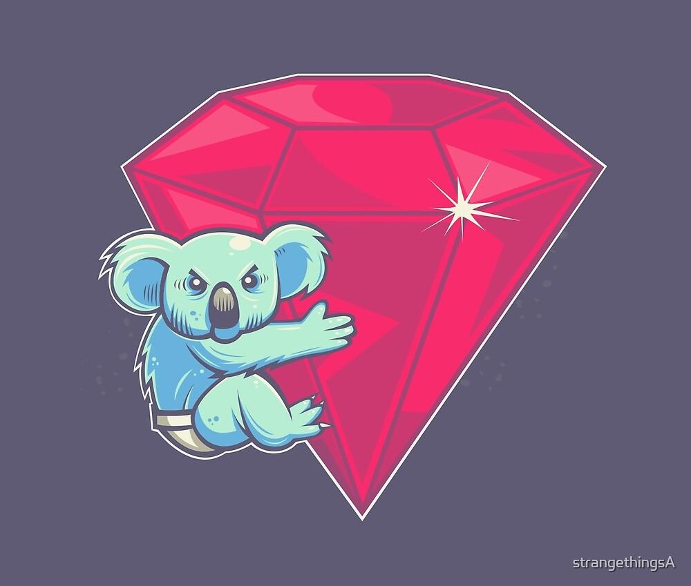 Koala Bear Underwear by strangethingsA