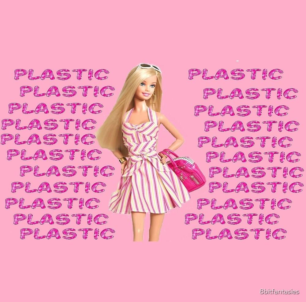"""Plastic"" Glitter Pink Pastel by 8bitfantasies"