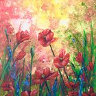 Lest We Forget, Red Poppies by Laura Wilson