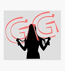 Tiffany Silhouette - GG Photographic Print