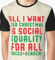 All I Want For Christmas Graphic T-Shirt
