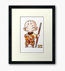 RPG Rules. Monk Framed Print