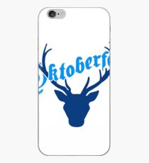 deer horns oktoberfest text lettering shirt cool design iPhone Case
