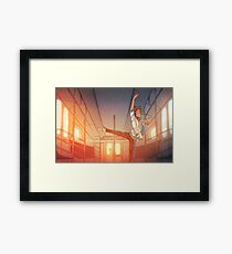 Lost to the Music Framed Print