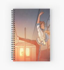 Lost to the Music Spiral Notebook