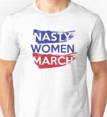 Nasty Women's March On Washington Unisex T-Shirt