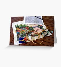 The Embroidery Project Greeting Card