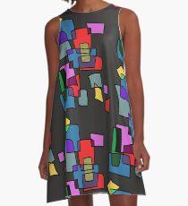 Blocks A-Line Dress