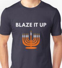 Blaze It Up - Funny Hanukkah Unisex T-Shirt