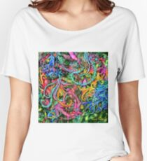 Qualia's Hummingbirds Women's Relaxed Fit T-Shirt
