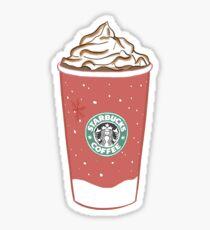 starbucks christmas cups Sticker