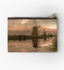 Kinderdijk windmills Holland  Studio Pouch