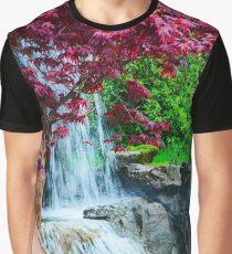 Hidden Waterfall Graphic T-Shirt