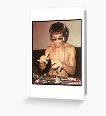 DJ Greeting Card