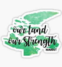 Nunavut  Sticker