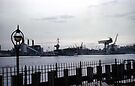 Brooklyn Navy Yard - USS Independence > by John Schneider