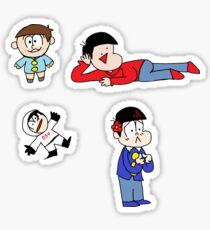 A Pitiful Oso Sticker Set Sticker