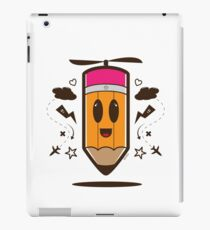 Fly Pencil Vector iPad Case/Skin