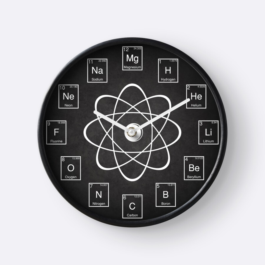 Periodic table elements clocks by offensivefun redbubble periodic table elements by offensivefun gamestrikefo Gallery
