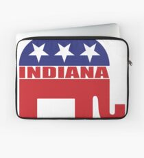 Indiana Republican Elephant Laptop Sleeve