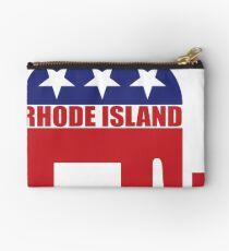 Rhode Island Republican Elephant Studio Pouch