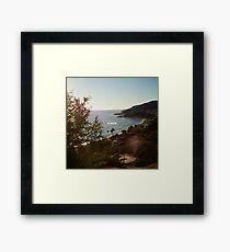 KINDA Framed Print