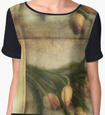 Tulips with Love  Women's Chiffon Top