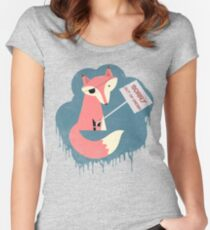 Five Nights At Freddy's - Foxy Out Of Order Women's Fitted Scoop T-Shirt