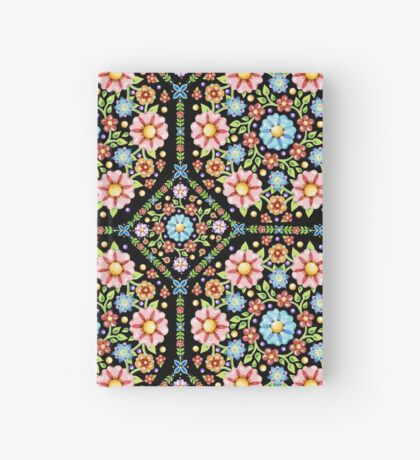 Millefiori Floral Hardcover Journal