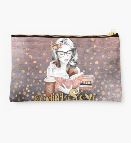 Reading is Sexy Studio Pouch