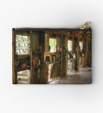 When the shearing shed falls silent ... Studio Pouch