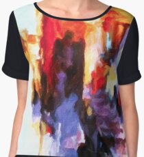 Seven Steps Abstract Women's Chiffon Top