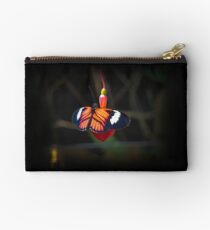 Red Mindo Butterfly In Ecuador Studio Pouch