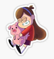 Mabel and Waddles Sticker