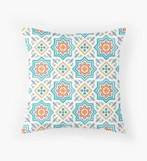 Moroccan 11 Throw Pillow