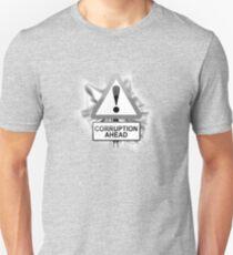 Corruption concept. Unisex T-Shirt