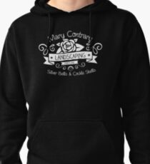 Mary Contrary Landscaping - Lovely Bookish Nursery Rhyme Inspired Design! Pullover Hoodie